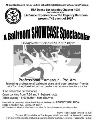 Ballroom Showcase 2007-11-02
