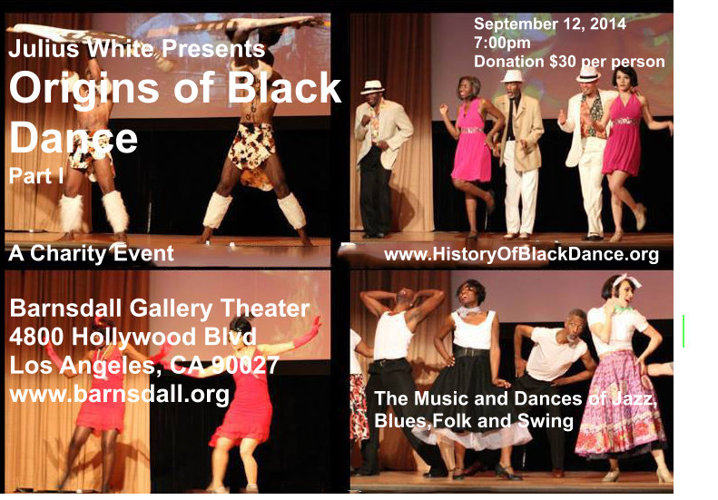 The Origins of Black Dance